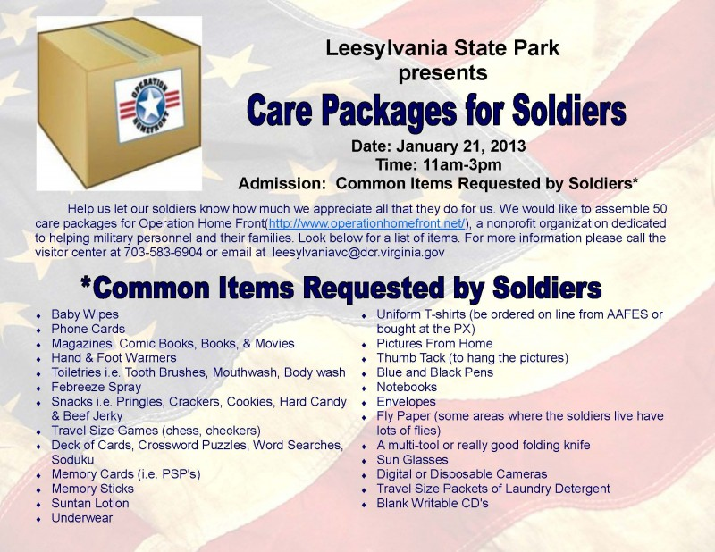 Care Packages For Soldiers Care Packages For Soldiers 800