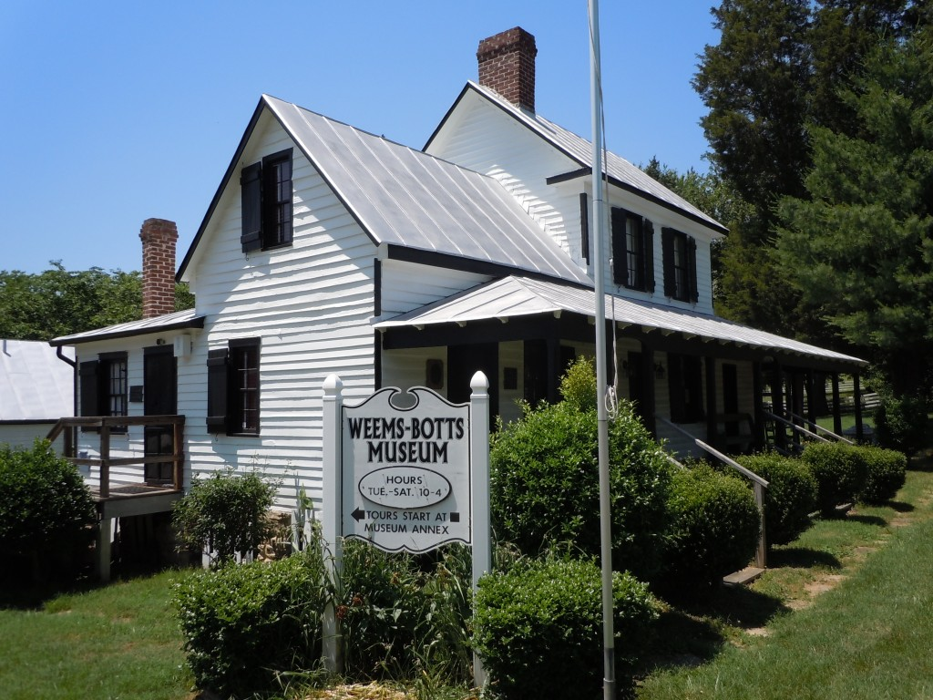 Weems Botts Museum