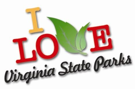 i love va state parks logo