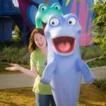 Rebecca Barnes takes a conga break in Disney World before delivering Volume 3Photo By: Zack Owen