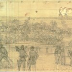 The Army of the Potomac- Buckland, scene of a calvary skirmish with Stuart.
