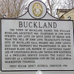 buckland sign
