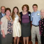 Pictured, recipients of the 2012 Prince William Chamber of Commerce Scholarship.