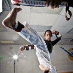 Donzell Muphey, Jr. , hopes to someday represent the U.S. in Tae Kwon Do at the Olympics.  Photo Courtesy Jonathan Thorpe.