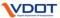 vdot logo