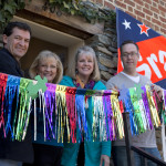 Guests of Honor at Saturday's Ribbon Cutting included Mayor Ernie Porta and Occoquan District Supervisor Mike May,