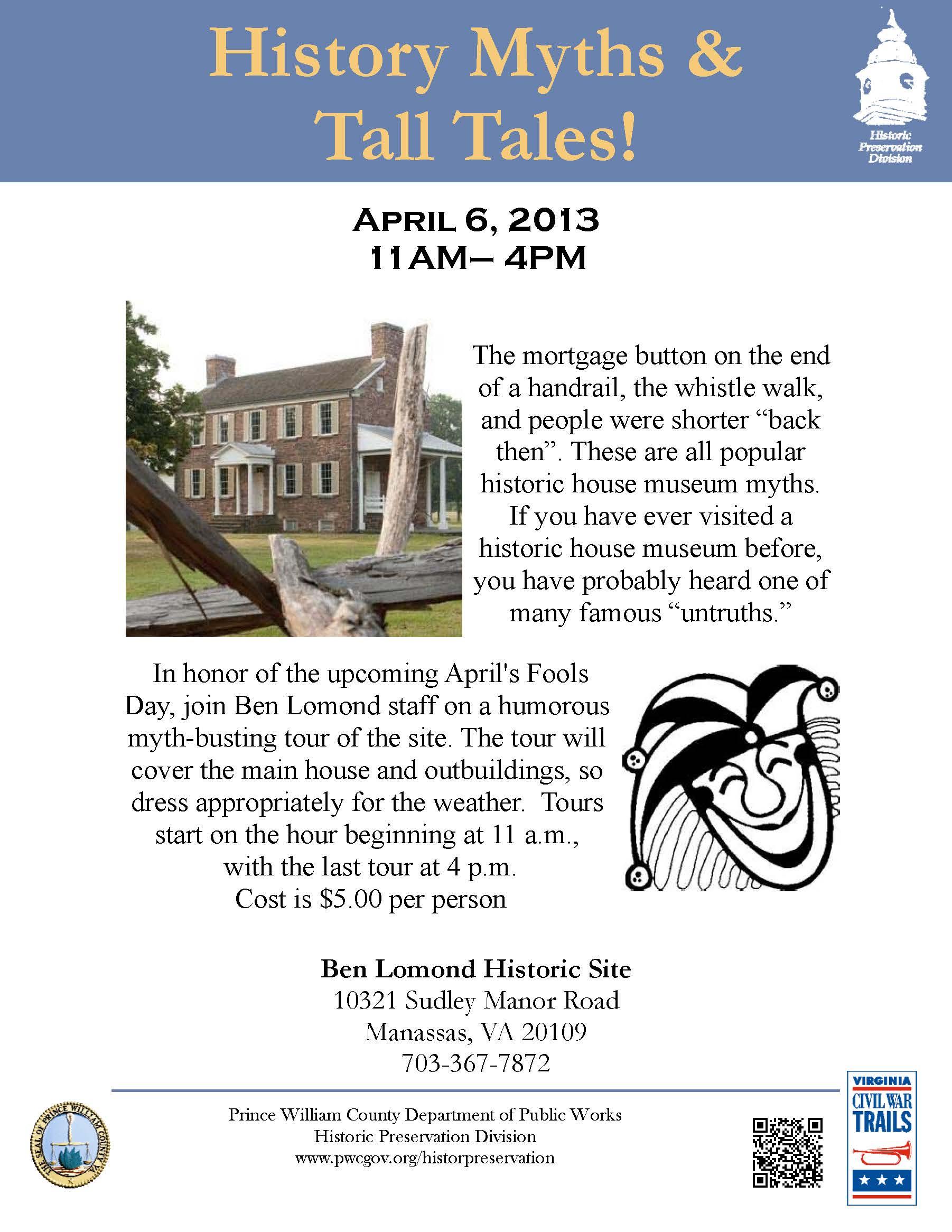 History Myths on April 6th