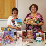 Cabin Branch Quilters donated books about quilting to Chinn Park Library, where members of the nonprofit group regularly meet to share their love of this traditional craft.