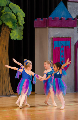 Tiny Dancers' Spring Recital performance of 'Sleeping Beauty'