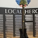 The museum lists the names of local residents killed in combat or from acts of terrorism.