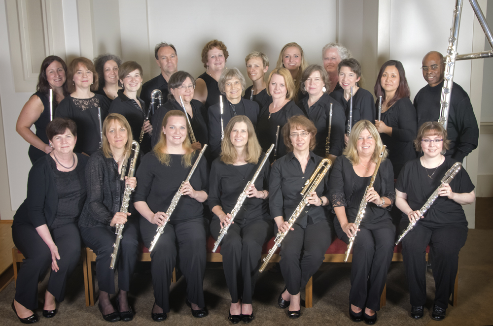 Photo courtesy of Woodbridge Flute Choir