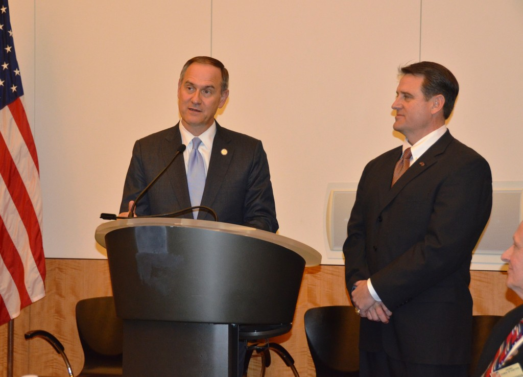 Anderson and Reeves Address Veteran Group at Virginia State Capitol