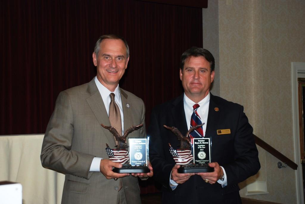 Del. Rich Anderson and Sen. Bryce Reeves