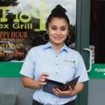Waitress Xenia Cantarero is among El Tio's friendly staff. - Photo by Tamar Wilsher