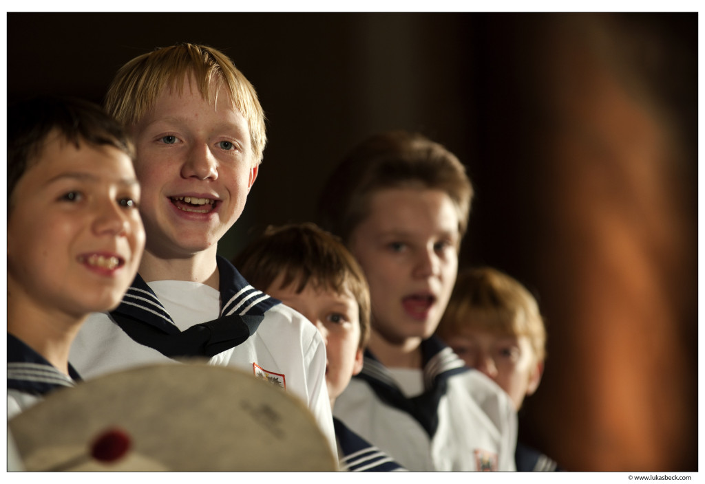 Photo provided by the Vienna Boys Choir
