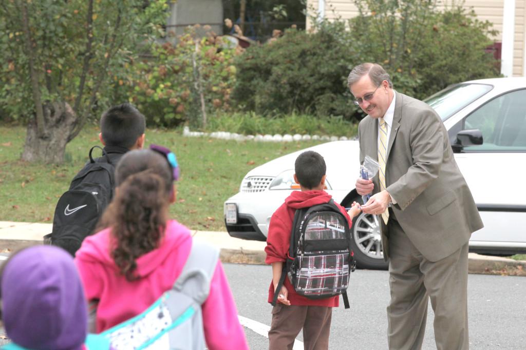 Supervisor Frank Principi - Walk to School Day