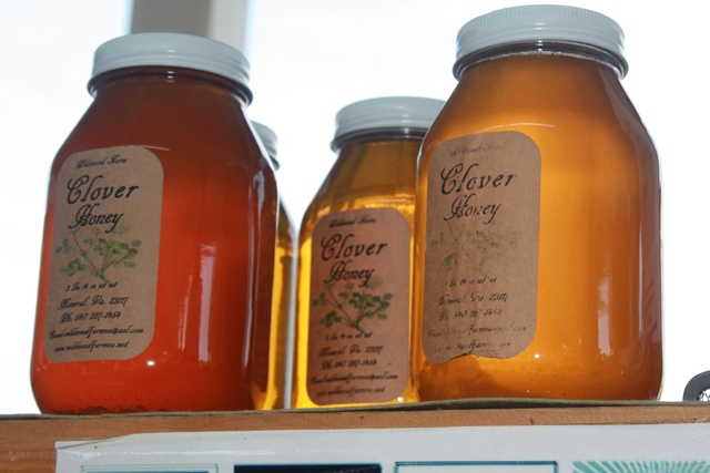 Local honey is one of the treats available at winter farmers markets in Prince WIlliam.   Photo courtesy Taylor Lenz