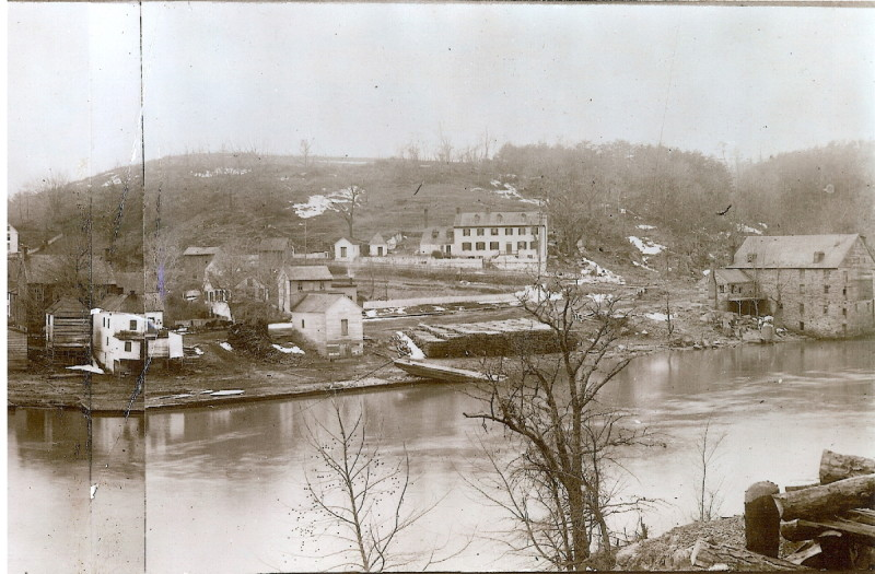 View of Occoquan Mill from across the river