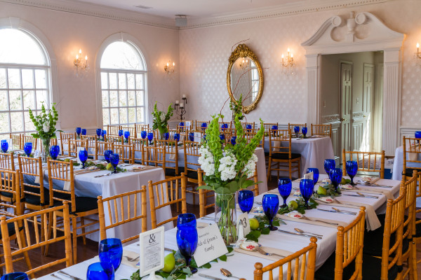Georgetown Caterers co-owner Gloria Rouse also manages event rentals at historic Rockledge Mansion in Occoquan.  Photo courtesy Kathy Strauss/Imagewerks.