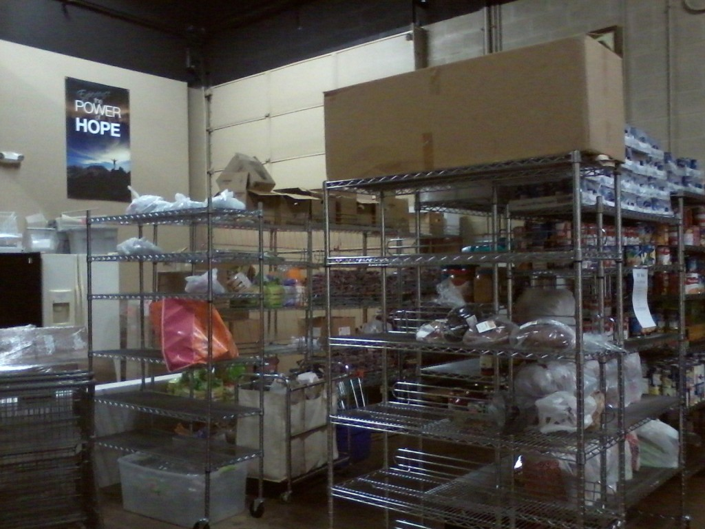 The House of Mercy's food pantry has become so low in food that its hours of operation were reduced during most of November.