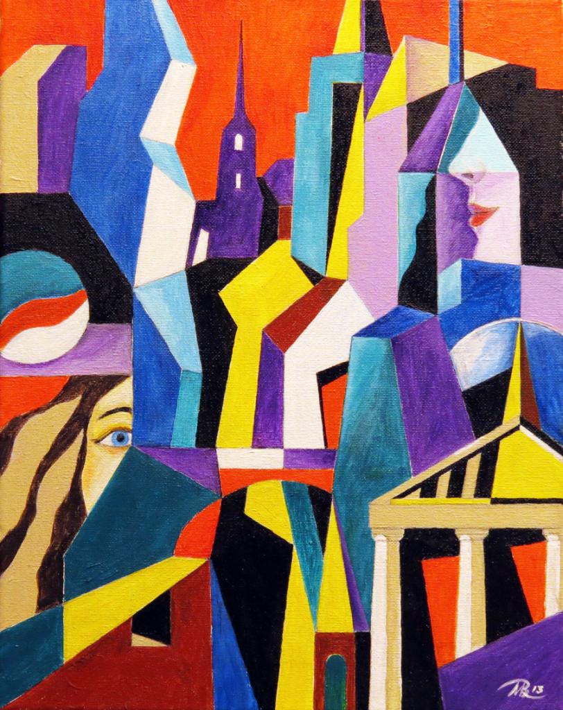 Urban Memories by Mikhail Bolkhovitinov