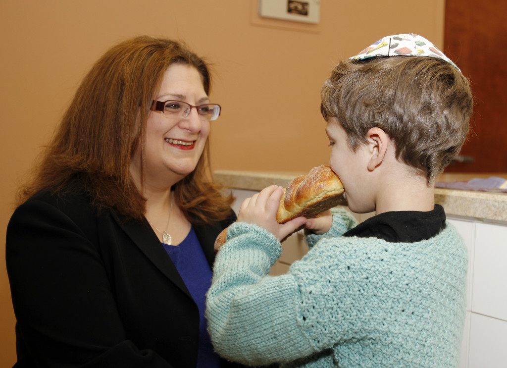 "On keeping kosher while dining out, Rabbi Jennifer Weiner (pictured) of Congregation Ner Shalom said that ""intention is a big part of it."""
