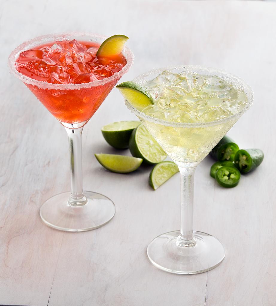 Caliente margaritas feature Tanteo tequila