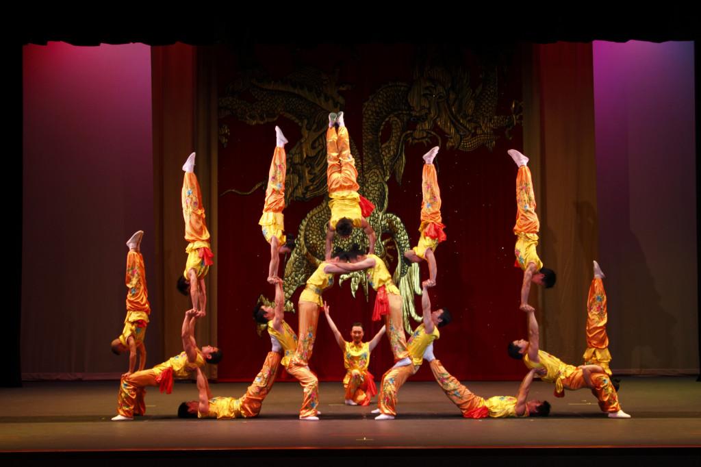 The Peking Acrobats. Photo  Credit - Tom Meinhold Photography