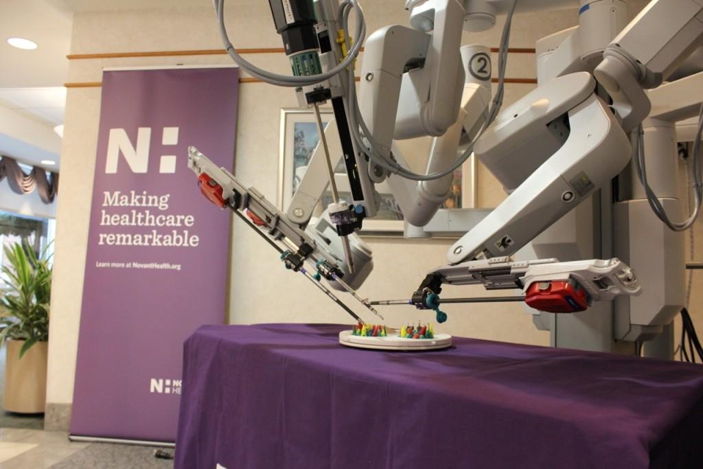 Novant Health Prince William Medical Center added a da Vinci® SI HD Surgical System in 2012.
