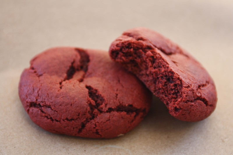 Red Velvet Cookies recipe by Green Owl Crafts
