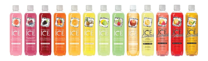sparking ice line up