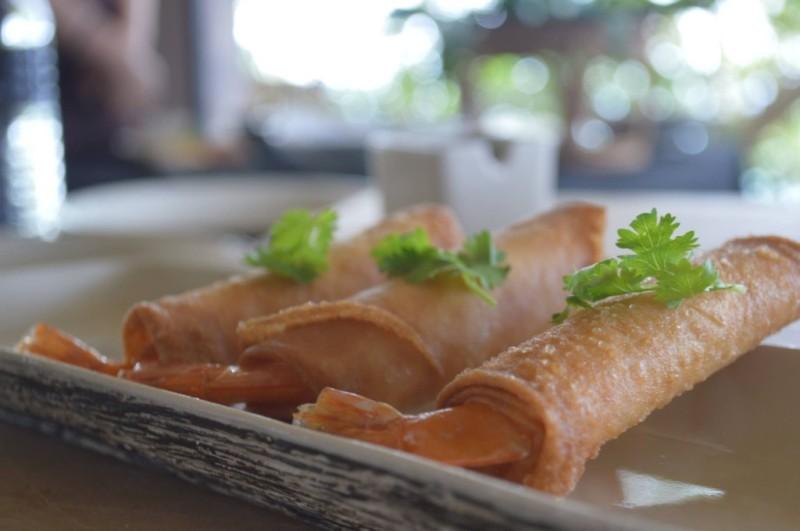 Shrimp Spring Rolls - Recipe Cooking School