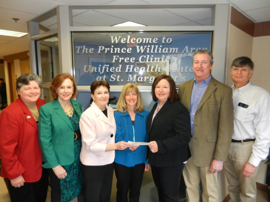 Jane Beyer, Supervisor Maureen Caddigan, Linda Franklin, Dr. Rebecca Sinclair, Janet Smith, Tom Harris and Bill Neale