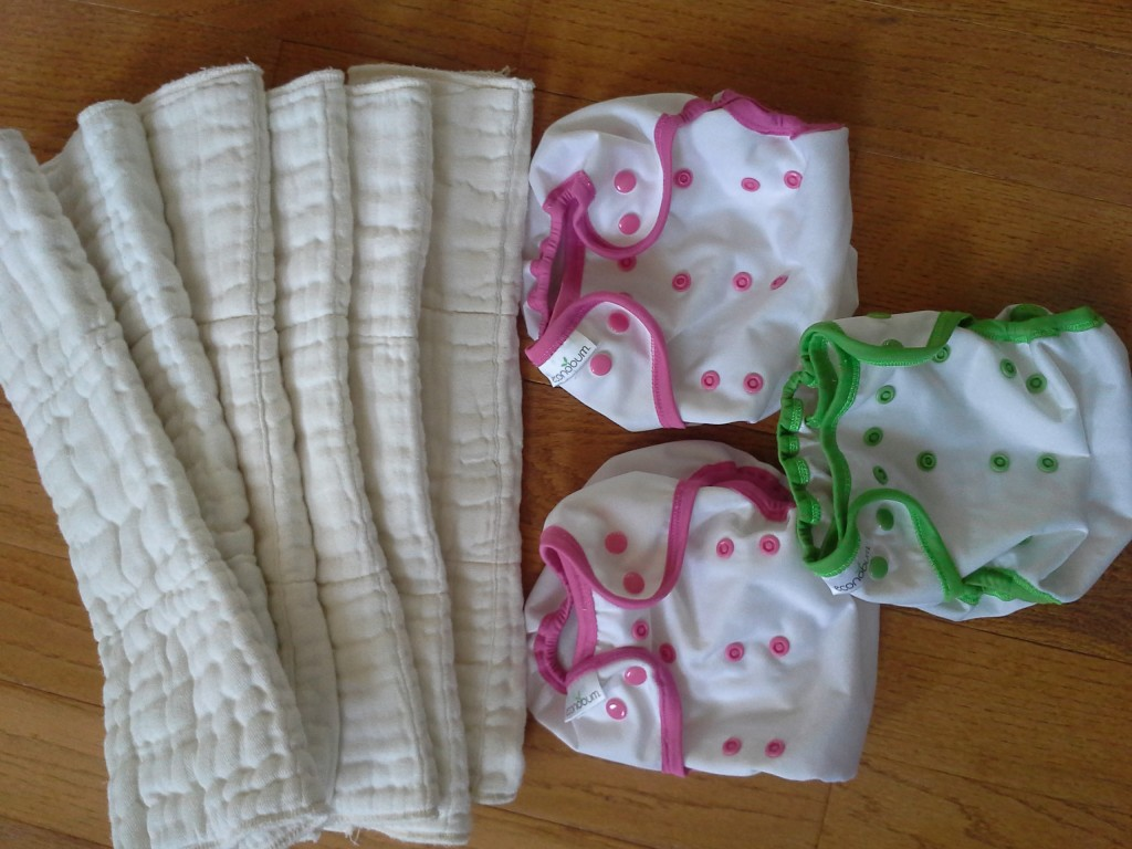 Exchanging disposable diapers for cloth is better for the earth and your family budget.