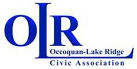 Occoquan Lake Ridge Civic Association OLR logo