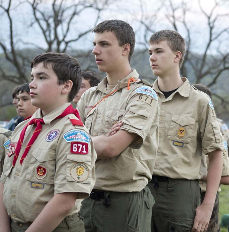 Members of Boy Scout Troop 671, of Nokesville. The Boy Scouts of America includes about 4,800 youth in Prince William County.