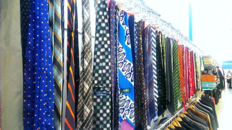 Ties at thrift