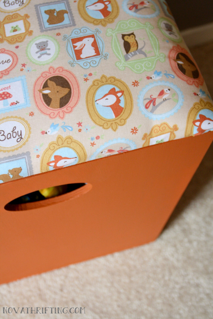 Thrifted DIY Toy Box Seats 3