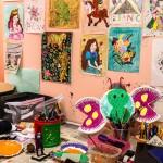 Trillium Drop-In Center Arts and Crafts Room
