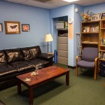 Support groups can meet comfortably in the Meeting Room at Trillium.