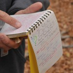 When you find a geocache, make sure to sign the enclosed logbook,and report your success online too.