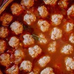 Sopa De Albondiga (aka Mexican MeatBalls)