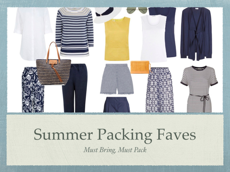 Summer Packing Faves