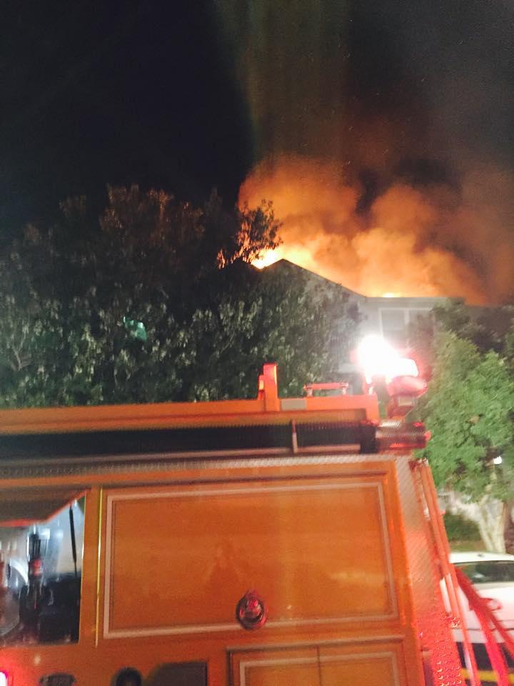 OWL VFD Responds to a fire in Lake Ridge.