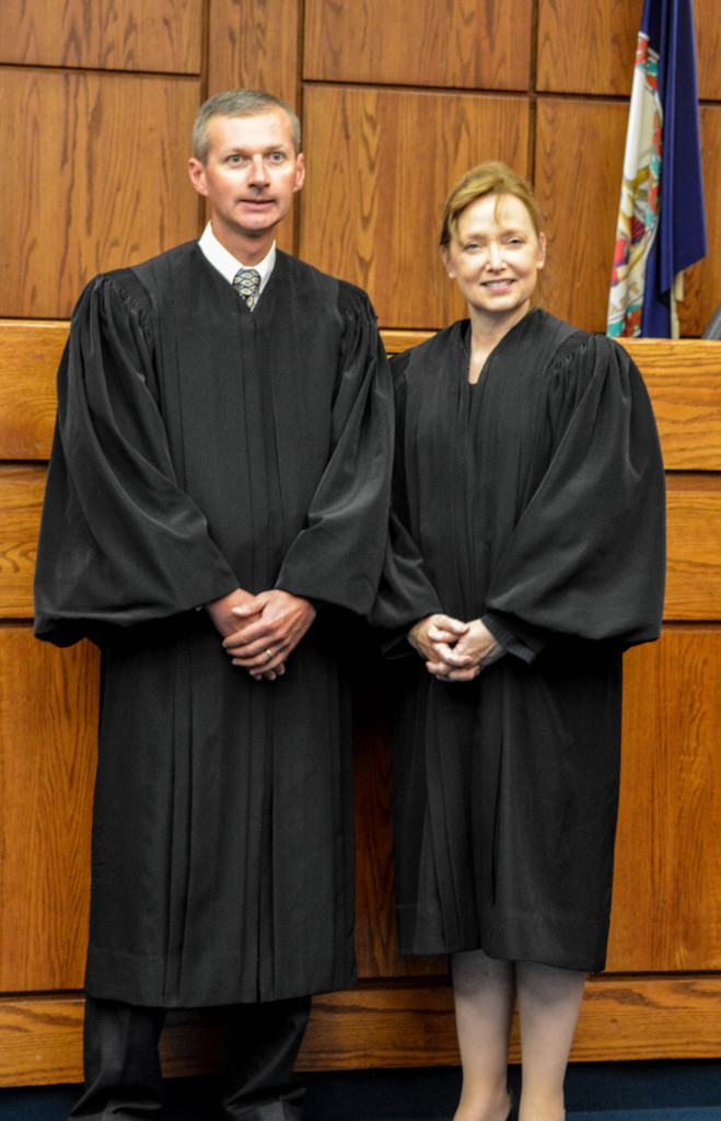 The Honorable Robert P. Coleman and the Honorable Angela Lemmon Horan