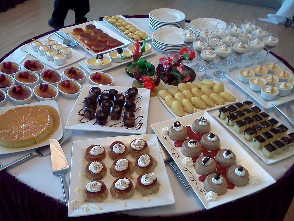 PWLiving September 2015 Luncheon dessert table