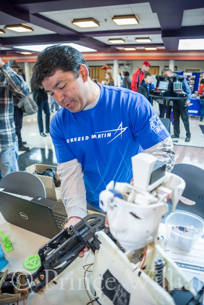 Lockheed Martin engineer Ed Danis started one of the county's first Maker groups. Joining industrial know-how and high-tech talents is the recipe for success, according to Danis. Prince William County offers both.