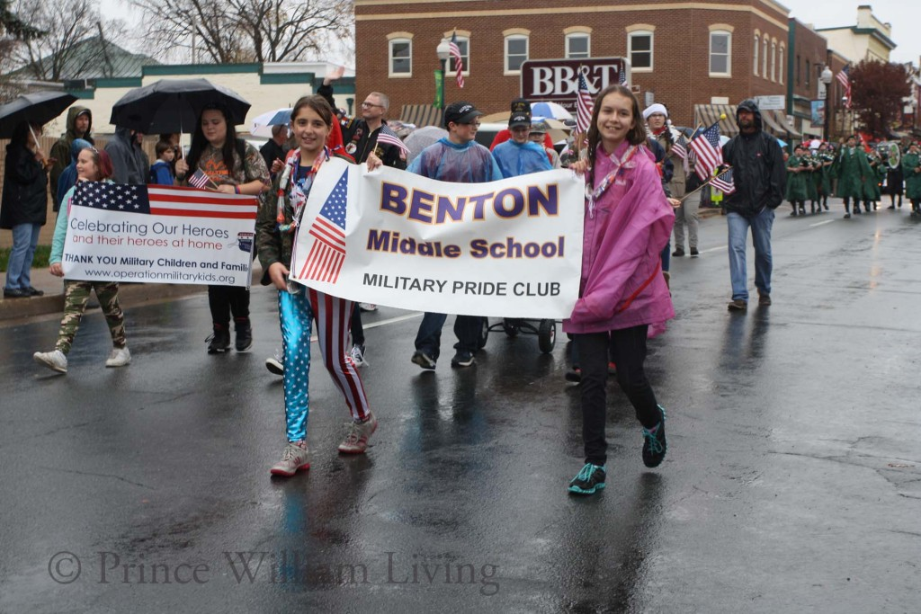 Local businesses, nonprofits, civic groups and schools participate in the Greater Manassas Veterans Day Parade to show their support of our military community.