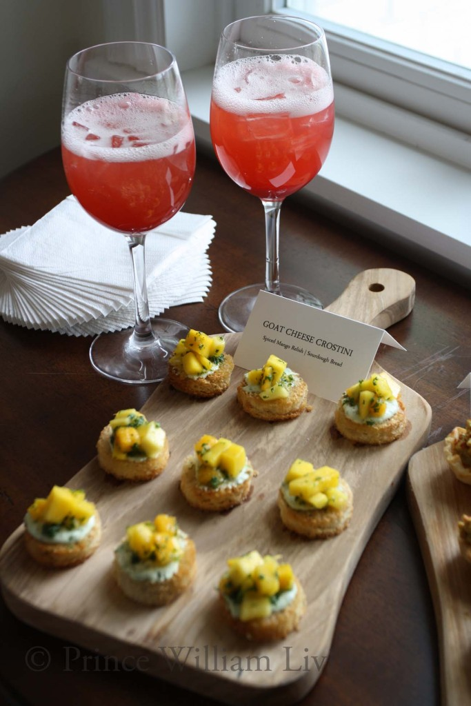 This Goat Cheese Crostini is one of many items that can be created for your private event