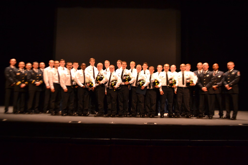 PWC Fire & Rescue Recruit Graduation May 2016